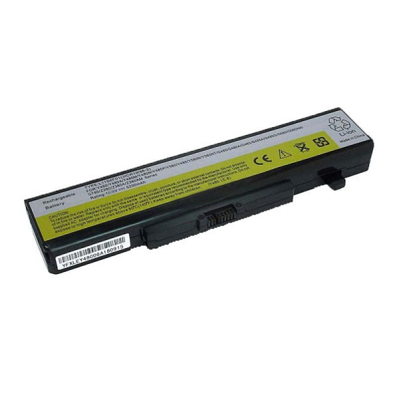 Батарея Lenovo Ideapad Y480, B480, B485, B490, B5400, B580, B590, E49, ThinkPad Edge E430, E440, E530, E540, 11,1 V 5200 mAh, L11S6F01, черный, аккумулятор для ноутбука