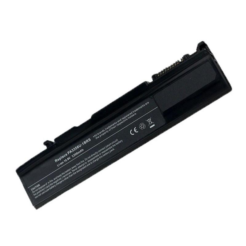 Батарея Toshiba Portege M300, S100, Satellite A50, A55T, M500, U200, Tecra A2, M2, M2V, M3, 10,8 V 5200 mAh, PA3356U-3BRS, черный, аккумулятор для ноутбука