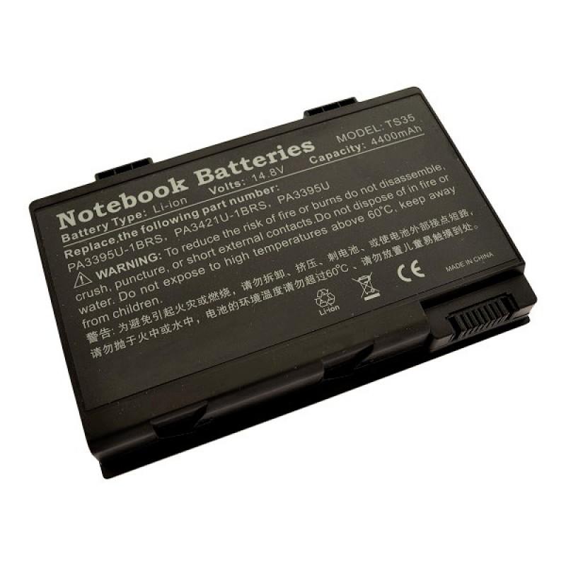 Батарея Toshiba Satellite Pro U300-116, Satellite U300, Dynabook CX, SS, Equium U300, Portege M600, Tecra M8, 14,8 V 4400 mAh, PA3595U, черный, аккумулятор для ноутбука