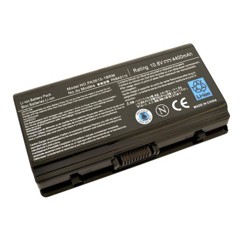 Батарея Toshiba Equium L40, Satellite L40, Satellite Pro L40, 10,8 V 4400 mAh, PA3615U-1BRM, черный, аккумулятор для ноутбука