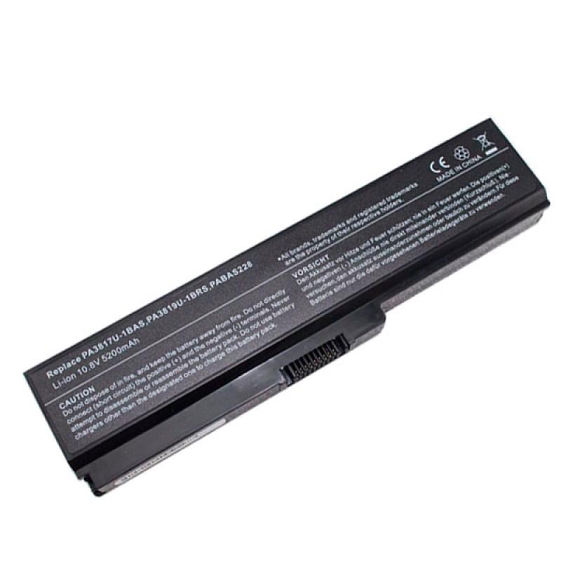 Батарея Toshiba Equium U400, Portege M800, Satellite L310, M300, U400, Satellite Pro M300, U400, 10,8 V 5200 mAh, PA3636U-1BRL PA3817U-1BAS, черный, аккумулятор для ноутбука