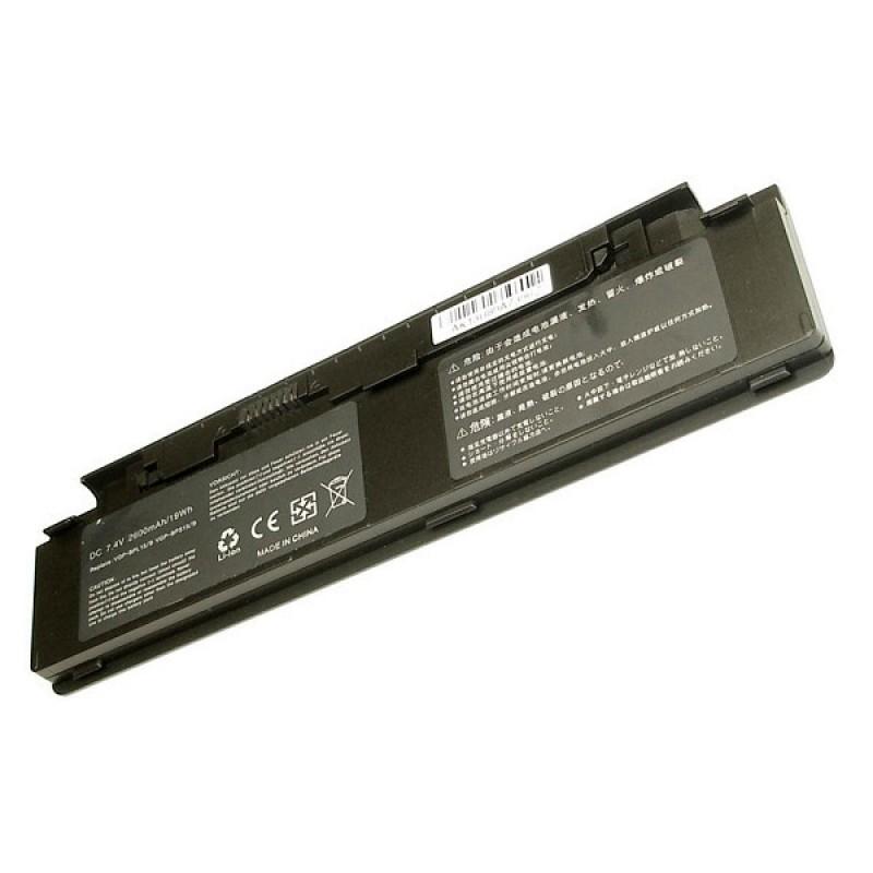 Батарея Sony VGN-P11Z/G, VGN-P19VN/Q, VGN-P21S/W, VGN-P29VN/Q, VGN-P31ZK/G, VGN-P39VL/Q, 7,4 V 2100 mAh, VGP-BPS15, черный, аккумулятор для ноутбука