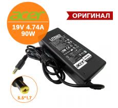 Адаптер питания Acer 19V 4.74A 90W 5.5*1.7, оригинал