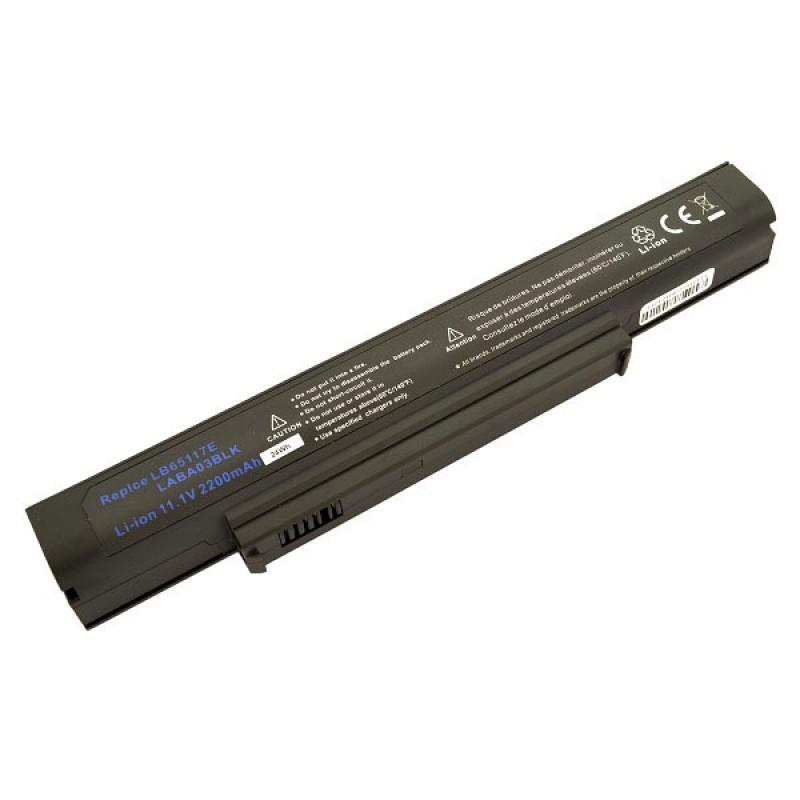 Батарея LG A1, 11,1 V 2200 mAh, LB65117E, черный, аккумулятор для ноутбука