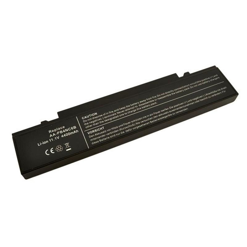Батарея Samsung NP, P50, P50 Pro, R39, R40, R45, R45 Pro, R60, R65, R70, R65 Pro, X60, X60 Plus, X60 Pro, 11,1 V 4400 mAh, AA-PB2NC6B, черный, аккумулятор для ноутбука