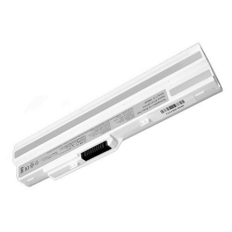 Батарея MSI Wind U90, U100, Advent 4211, Medion Akoya Mini E1210, MyBook M11 Freedom, Tsunami Moover T10, 10,8 V 4400 mAh, BTY-S12, белый, аккумулятор для ноутбука