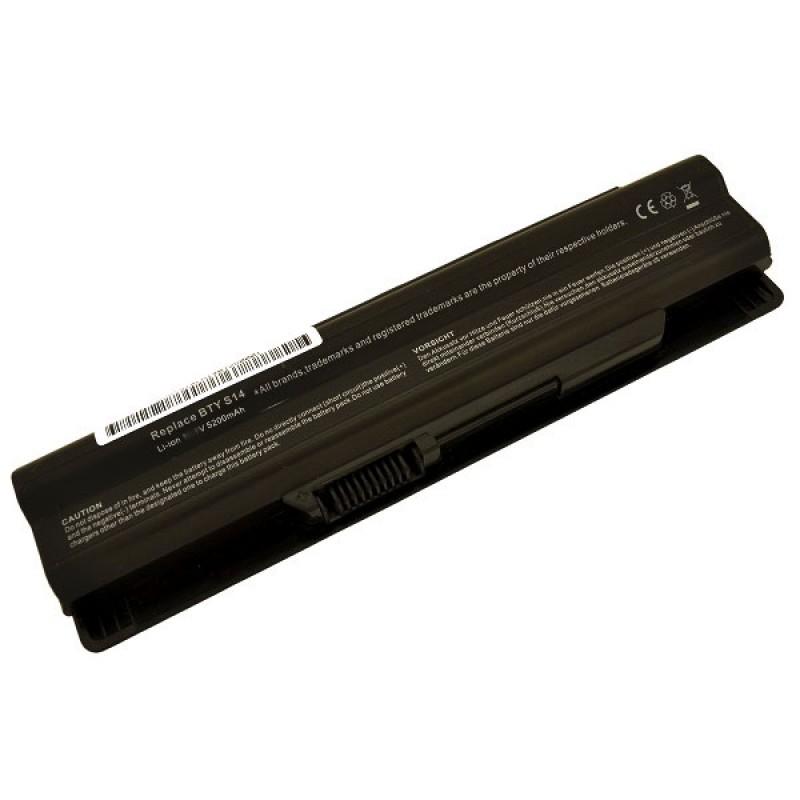 Батарея MSI GE620, FX400, FX420, FX600, FX700, FR400, FR600, FR700, CX650, CR650, 10,8 V 5200 mAh, BTY-S14, черный, аккумулятор для ноутбука