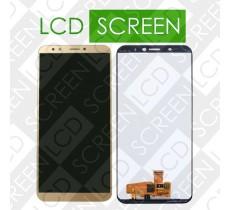 Дисплей для Huawei Honor 7C Pro LND-L29 с сенсорным экраном, золотистый, с передней панелью белого цвета, модуль, дисплей + тачскрин