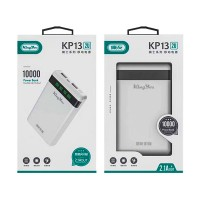 Power Bank KingYou King You KP13 10000 mAh 2.1 A Double USB Output, белый