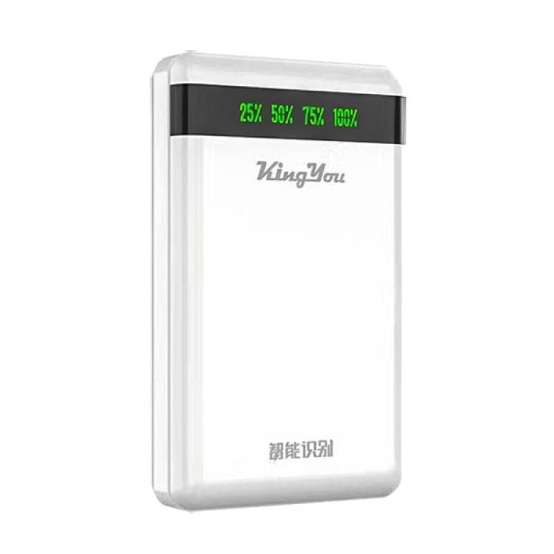 Power Bank KingYou King You KP13 10000 mAh 2.1 A Double USB Output, белый